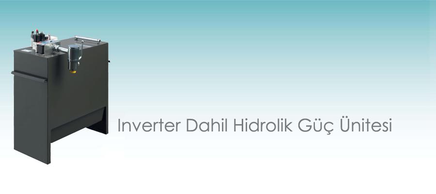 Inverter Dahil Hidrolik Güç Ünitesi